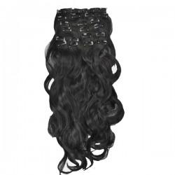 Волосы на заколках 0191