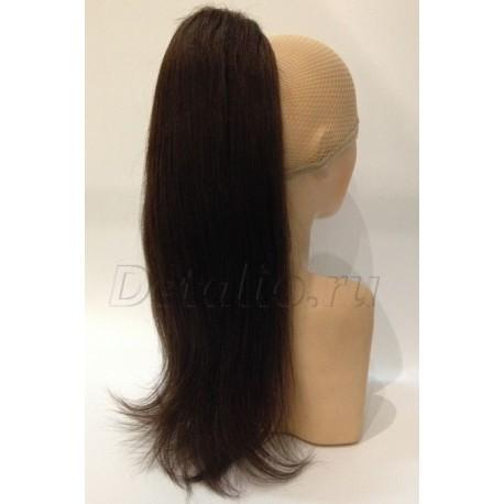 Хвост из натуральных волос 205 A