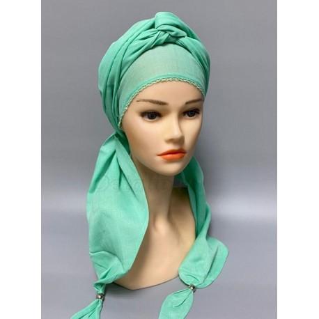 Чалма-платок однотонный