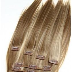 Волосы на заколках натуральные 999