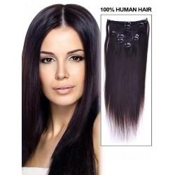 Волосы на заколках натуральные Premium too