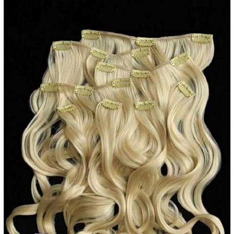 Волосы на заколках 955