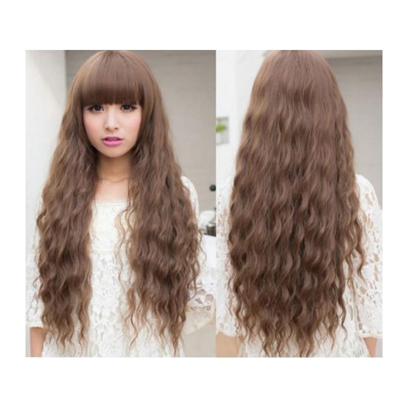 накладки из волос на заколках