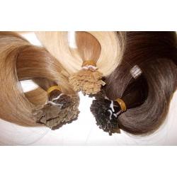 Натуральные волосы для капсульного наращивания 50 см