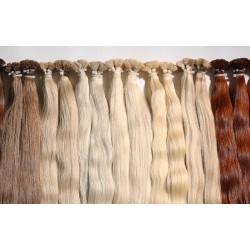 Натуральные волосы для капсульного наращивания 55 см