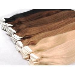 Натуральные волосы для ленточного наращивания 50 см
