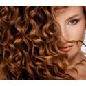 Волосы на заколках из термоволокна кудрявые Detalio