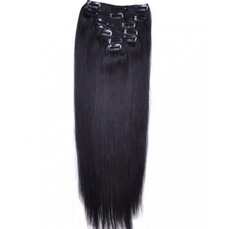 Волосы на заколках натуральные Virgina 50 см.
