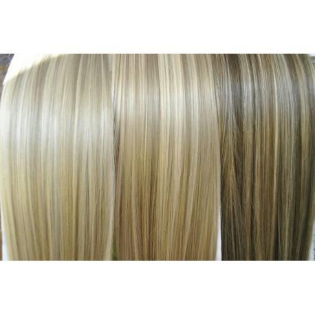Волосы на заколках из термоволокна 69см.